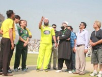 PTI holds T20 Cricket Match for Peace at Peshawar KPK