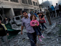 77 Palestinians dead as Israel continues to bomb Ghaza