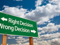 Let's not rush to make a wrong decision