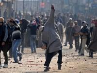 A Kashmiri protesting Indian Occupation
