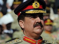 File photo of General Raheel Sharif. AFP PHOTO/Aamir QURESHI