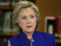 File Photo of Presidential Candidate Hillary Clinton  (AP Photo/John Locher)