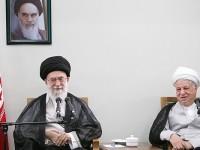 Khamenei and Rafsanjani: Missiles vs Negotiations