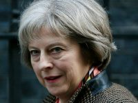 Theresa May, new Prime Minister of United Kingdom. Photograph: Stefan Wermuth/Reuters