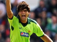 File photo of fast bowler Muhammad Irfan.