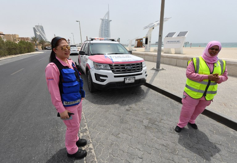 Dubai Introduces Pink Ambulance For Women Voice Of Journalists