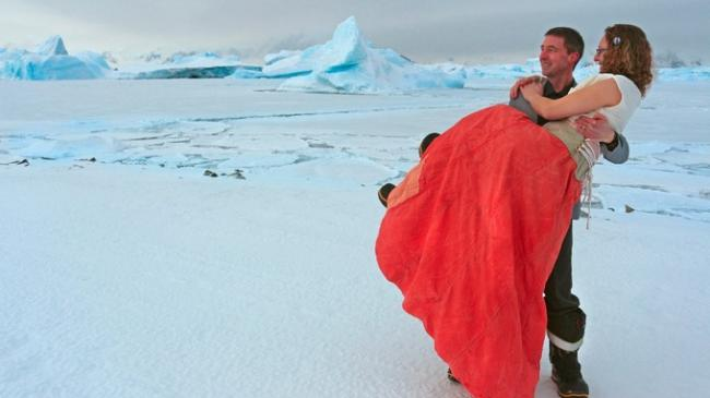 Wedding bells in Antarctica: First ever official wedding on icy continent