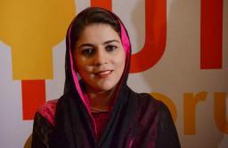File photo of Naz Baloch.