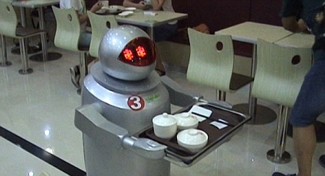 Robots Delivering Fast Food