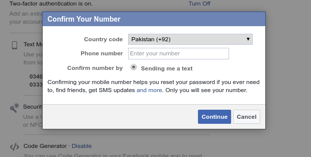 Someone can easily access your facebook account without a