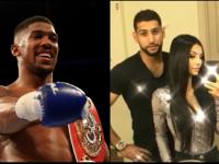 Amir Khan accused his wife Faryal of cheating on him with Anthony Joshua.