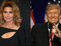 Canadian Singer Shania Twain caught in the crossfire over Trump comment