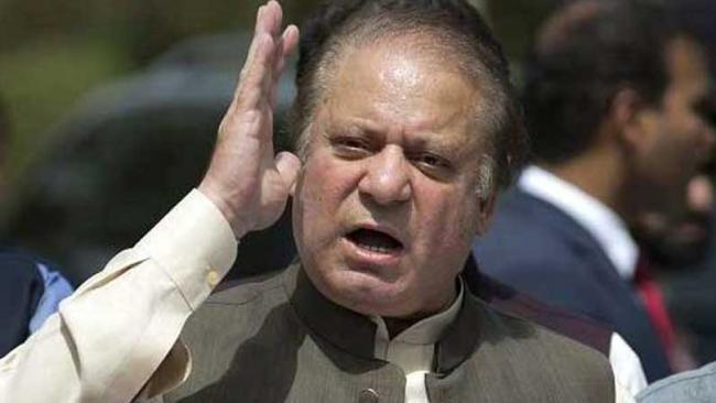 File photo of Nawaz Sharif.