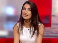 File photo of Reham Khan during a BBC program.