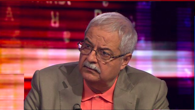 Hameed Haroon, Ceo of Dawn Media Group. (Screen grab from HARDtalk program)
