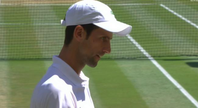 Novak Djokovic wins Wimbledon final 6-2, 6-2, 7-6 again Kevin Anderson