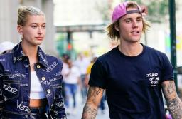 File photo of Hailey Baldwin with Justin Bieber.
