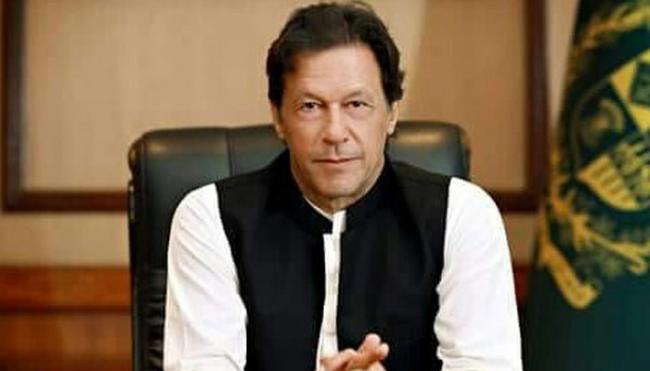 File photo of Prime Minister Imran Khan.