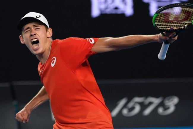 Alex De Minaur beatsKei Nishikoriin the US Open 3rd Round Match